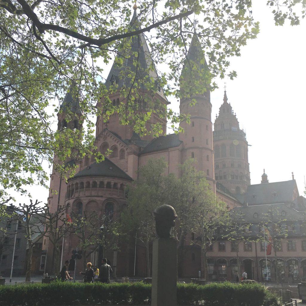 La cathédrale de Mayence